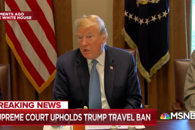 Big Question: Will Trump use the travel ban decision to reinforce his hardline immigration policies?