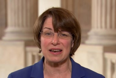 Full Klobuchar: One party controls the presidency and both houses of Congress