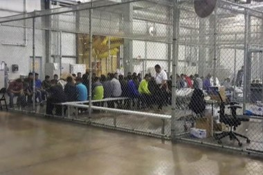 Inside border detention centers where thousands of children are being held