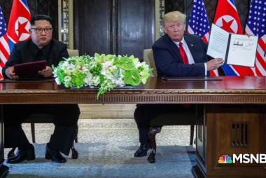 "Trump: ""I do"" trust Kim Jong Un"