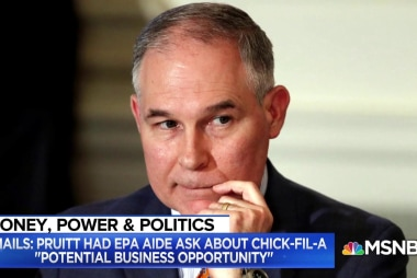 EPA Admin. Scott Pruitt had aide inquire about Chick-fil-A 'business opportunity' for his wife