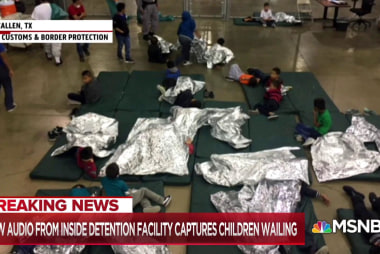 Children heard crying from inside border facility, how will the WH respond?