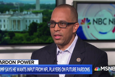 Rep. Jeffries: Unclear if Trump understands what led to NFL protests