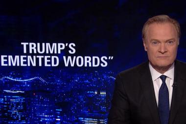 Lawrence: Trump's Iran threat shows 'panic'