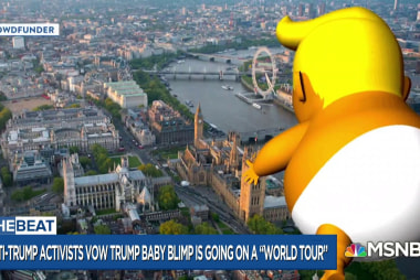 Humiliating: Trump baby war escalates with 'world tour'