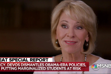Exposed: Betsy DeVos's record of dismantling student protections