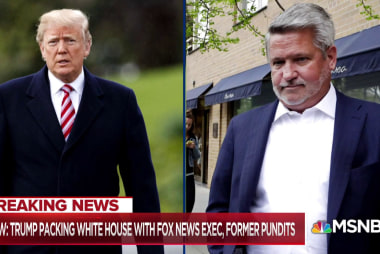 Trump taps controversial ex-Fox executive for key White House job