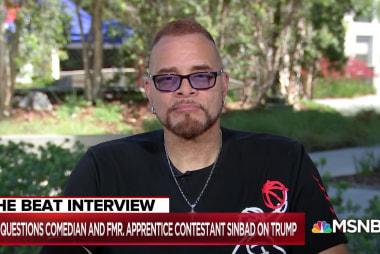 Comedian Sinbad: Trump is a 'keyboard gangster'