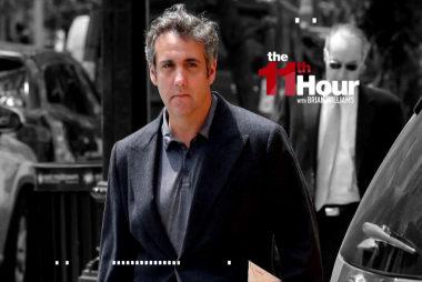 Michael I'd-take-a-bullet-for-Trump Cohen signals he may flip