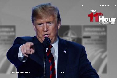 Trump: I'm a very stable genius. European allies: Umm, really?