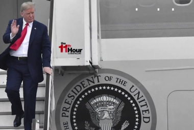 Trump arrives in Europe as allies fear he could tank NATO summit