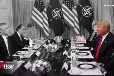 Trump blasts NATO at Brussels summit