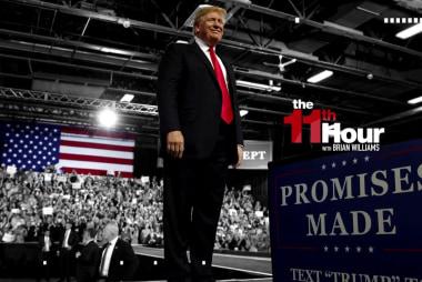 Trump mocks Sen. Warren & #MeToo movement at off-the-rails rally