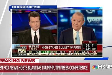 Fox News personalities criticize Trump amid Putin summit