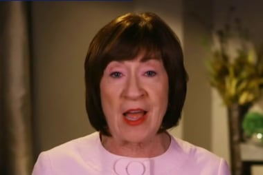 Senator Collins won't support SCOTUS pick hostile to Roe v Wade