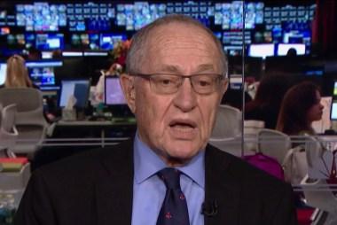 Dershowitz makes the case against impeaching Trump