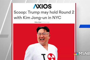 Axios: White House hoping for 'Round 2' North Korea Summit