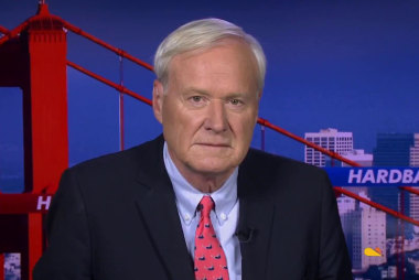 Matthews: Trump is disrupting our democracy