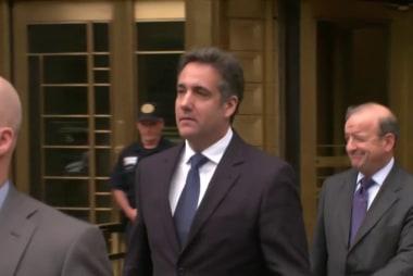 Cohen signals a flip on Trump