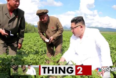 Kim Jong Un chooses potato over Pompeo