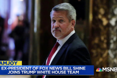 Gabriel Sherman: With Bill Shine Trump will speak exclusively to his base