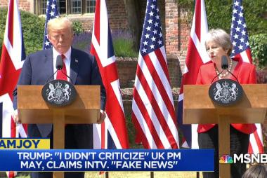 Did Trump embarrass America during his U.K. visit?