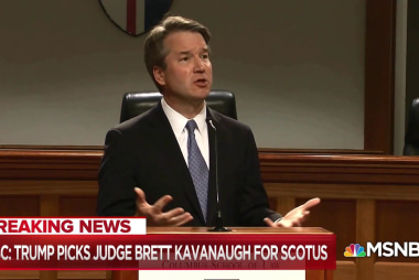Kavanaugh the product of rigorous right-wing political process