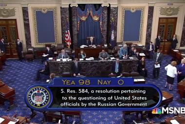 Senate unified against sending Americans to Putin as Trump mulls
