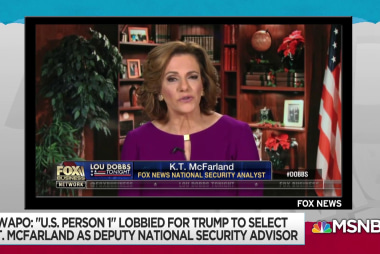 New dots connect Butina case to K.T. McFarland and Mike Flynn