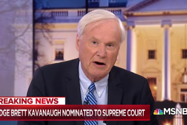 Trump works tricky political equation with Kavanaugh pick