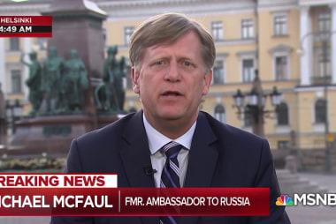 McFaul: Trump with Putin shows U.S. 'national security crisis'