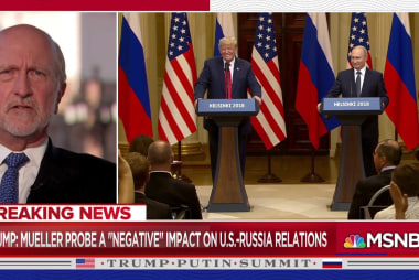 Dickey: 'We witnessed the collusion of Donald Trump and Vladimir Putin'