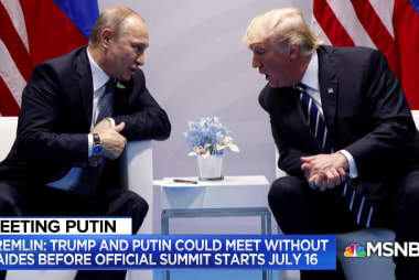If Trump and Putin meet alone, what could go wrong?