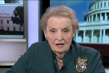 Trump behavior in Helsinki 'un-American': Albright