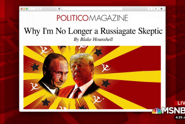Writer explains why he's no longer a Russiagate skeptic