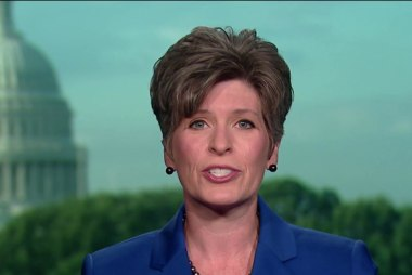 GOP senator Ernst disappointed by Trump remarks