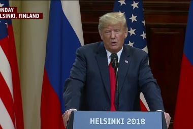 Why Trump just can't 'hit delete' on Helsinki remarks