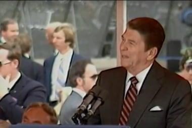 'A different era': Comparing Trump and Reagan at NATO