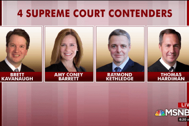 Trump set to name SCOTUS pick; what is his best strategy?