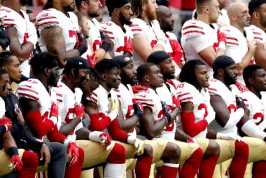 With NFL kneeling rules, owners leverage patriotism