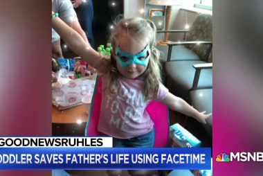 #GoodNewsRUHLES: 3-year-old saves father's life