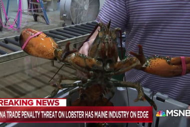 China trade penalty threat on lobster has Maine industry on edge
