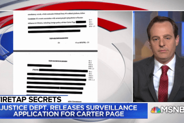 NYT Reporter: What the Page FISA docs reveal