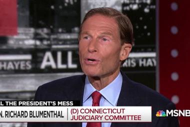 Sen. Blumenthal: McGahn seen as voice of reason
