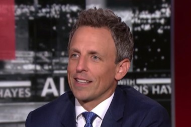 Seth Meyers on late night in the Trump Era