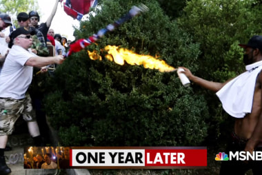 Charlottesville, one year later