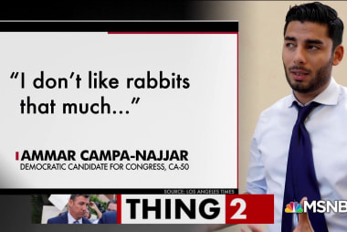Is rabbit-loving Rep. Duncan Hunter's seat in danger?