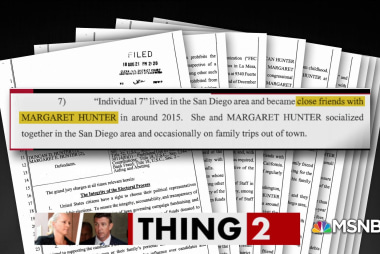 Rep. Duncan Hunter throws his wife under the bus