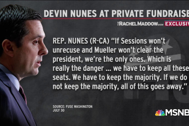 Nunes on secret tape: Kavanaugh vote, then Rosenstein impeachment