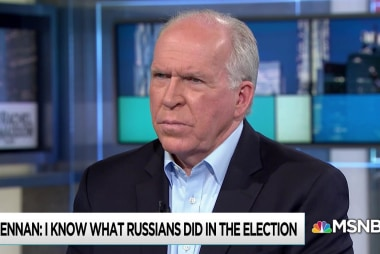 Brennan: Russian intrusion did not end with Trump inauguration